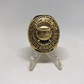 boston red sox world series championships 1912