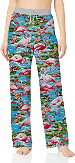 Womens Christmas Pajama Bottoms Comfy Palazzo Lounge Pant Spleepwear