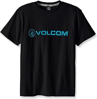 Volcom Boys' Stone Logo Branded T-Shirts