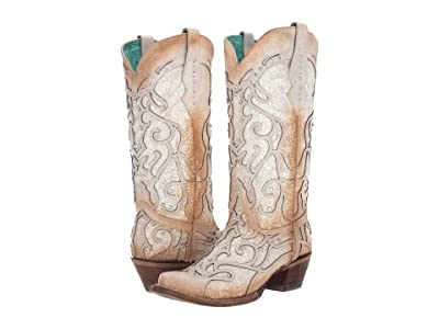 Corral Boots C3434 (White) Cowboy Boots