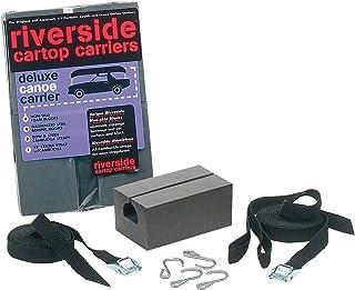 """Riverside 7"""" Deluxe Canoe Carrier Kit, Black (068744)"""