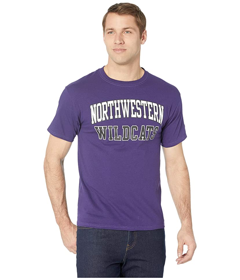起訴するフラッシュのように素早く起点[チャンピオン] メンズ シャツ Northwestern Wildcats Jersey Tee [並行輸入品]