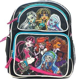 AI Black, Blue, and Pink Monster High Backpack - Monster High Bookbag