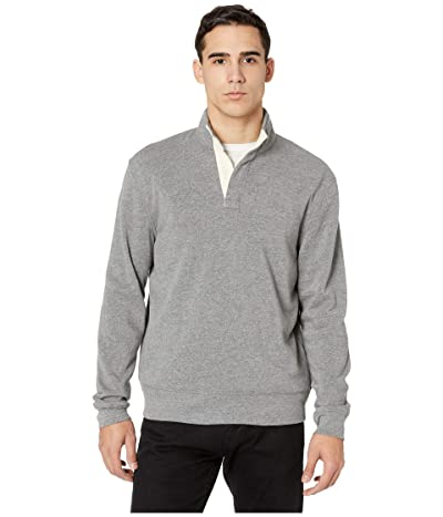 Alternative Eco Fleece Notched Pullover (Eco Grey) Men