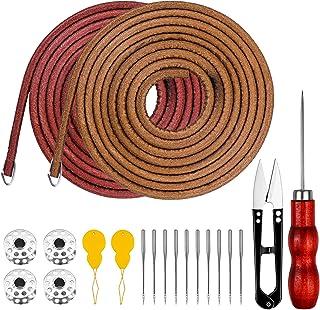 comprar comparacion Homgaty - Juego de accesorios para máquina de coser, cinturón con 4 ganchos, 4 bobinas para máquina de coser, 2 enhebrador...