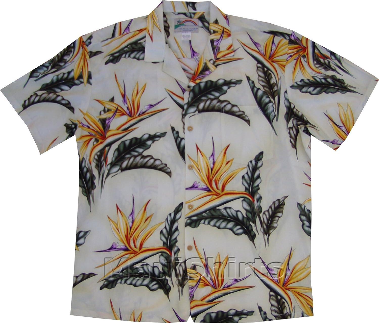 Bird of Colorado Springs Mall Paradise #2 Men's Hawaiian Kansas City Mall Rayon Aloha Shirt