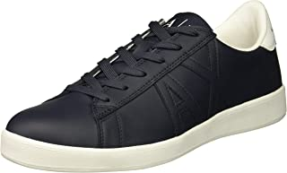 A|X Armani Exchange Men's Tonal Logo Low Cut Sneaker