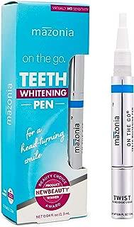 Teeth Whitening Pen, BEAUTY AWARD WINNER, Effective Whitening Pen that actually works, Professional Treatment Virtually No Sensitivity Stain Remover, for a Beautiful White Smile (Teeth Whitening Pen)