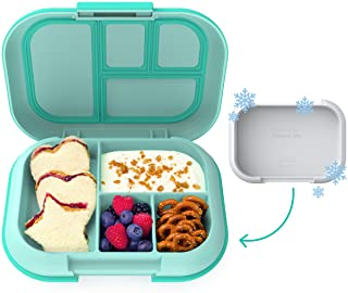 Bentgo Kids Chill Lunch Box - Bento-Style Lunch Solution with 4 Compartments and Removable Ice Pack for Meals and Snacks O...