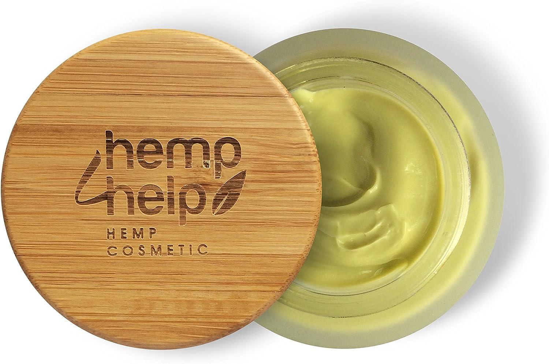 Crema facial con extracto de cáñamo CDB, aceite de jojoba, aceite de argán, manteca de karité
