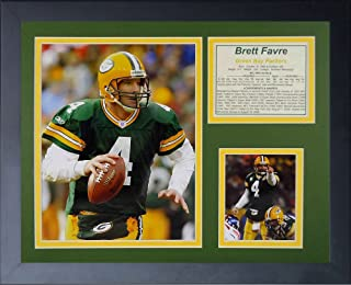 brett favre framed pictures