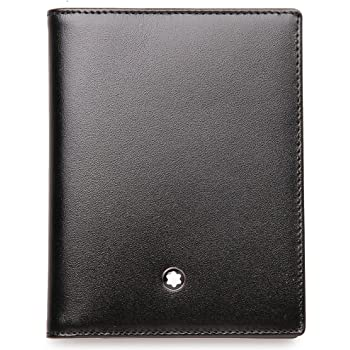 Montblanc Meisterstuck Men's Small Leather Multi Credit Card Case 5527
