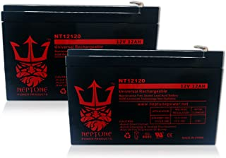 Pride MobilityGo Go 12V 12Ah Replacement Battery by Neptune - 2 pack