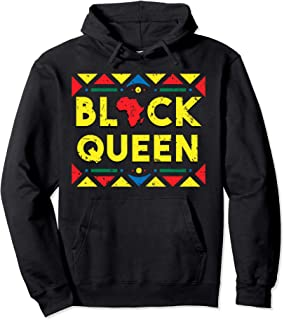 Black Queen Hoodie African Roots Black History Month Gift