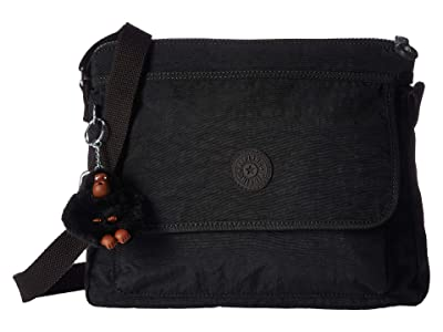 Kipling Aisling Crossbody Bag (Black 1) Handbags