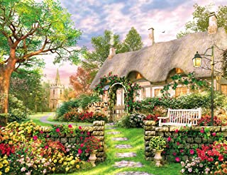 Agirlgle Jigsaw Puzzles 1000 Pieces for Adults for Kids, Jigsaw Puzzles -Cottage- 1000 Pieces Jigsaw Puzzles,Softclick Tec...