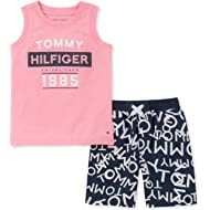 Tommy Hilfiger Boys' Toddler 2 Pieces Muscle Top Shorts Set