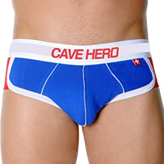 CaveHero Christian 100% Combed Cotton Buttocks Padded Perfect Shape Lordosis Back Men Boxer Underwear