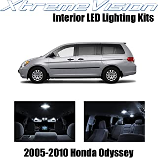 XtremeVision Interior LED for Honda Odyssey 2005-2010 (11 Pieces) Pure White Interior LED Kit + Installation Tool