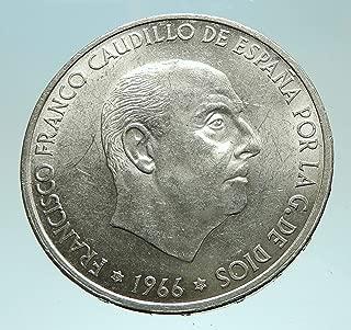 1966 spain 100 pesetas