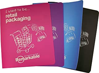 Remarkable Retail Pack Includes Recycled A5 Ring Binders - Assorted
