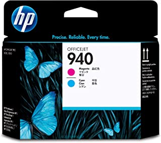 HP C4901A 940 Magenta and Cyan Officejet Printhead Ink Cartridge