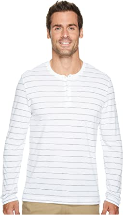 Long Sleeve Henley w/ Wicking