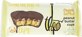 Theo Chocolate Peanut Butter Cups Milk Chocolate -- 1.3 oz