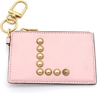 Tory Burch Studded Monogram Card Case and Key Fob