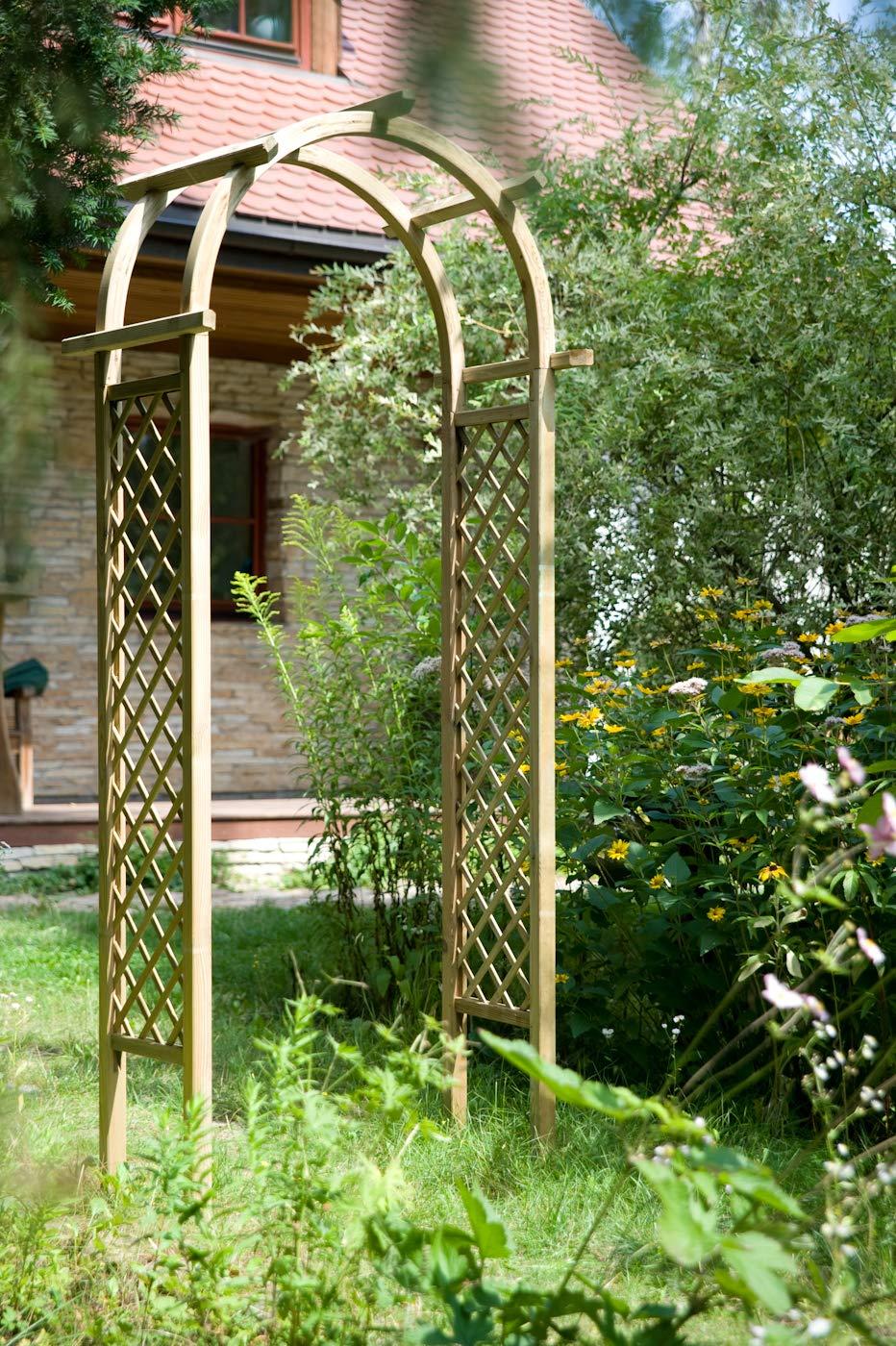 Jardín Verde - Arco decorativo Pérgola