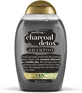 OGX Charcoal Detox Shampoo, 385ml
