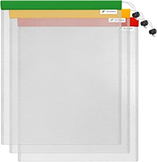 "The Chestnut Mesh Laundry Bag - 3 Pack 12""x10"" Mesh Bag - Reusable Produce Bags - Small Nylon Mesh Laundry Bag for Vegetables, Garments, Grocery - Wash Organizer Bag for Washing Machine"