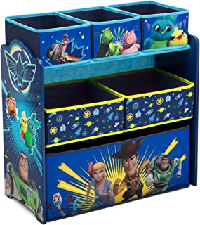 Delta Children Design and Store 6-Bin Toy Storage Organizer, Disney/Pixar Toy Story 4