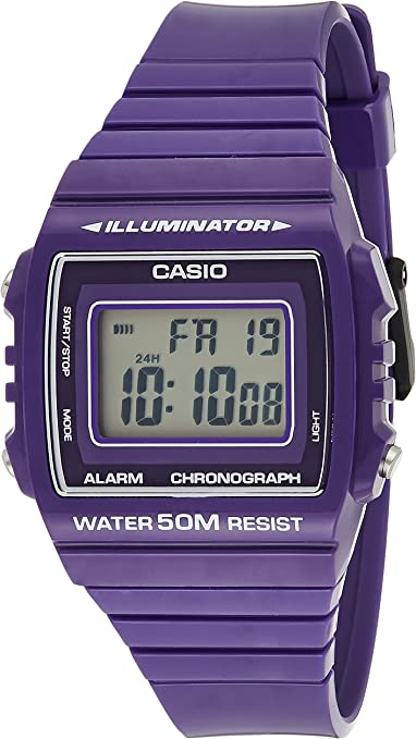 CASIO Reloj con Movimiento Cuarzo japonés W-215H-6