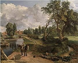 John Constable Flatford Mill Scene on a Navigable River 1817 Tate Britain - London 30