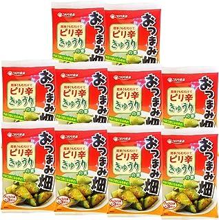 ニチノウ食品 おつまみ畑 ピリ辛きゅうりの素 ×10袋