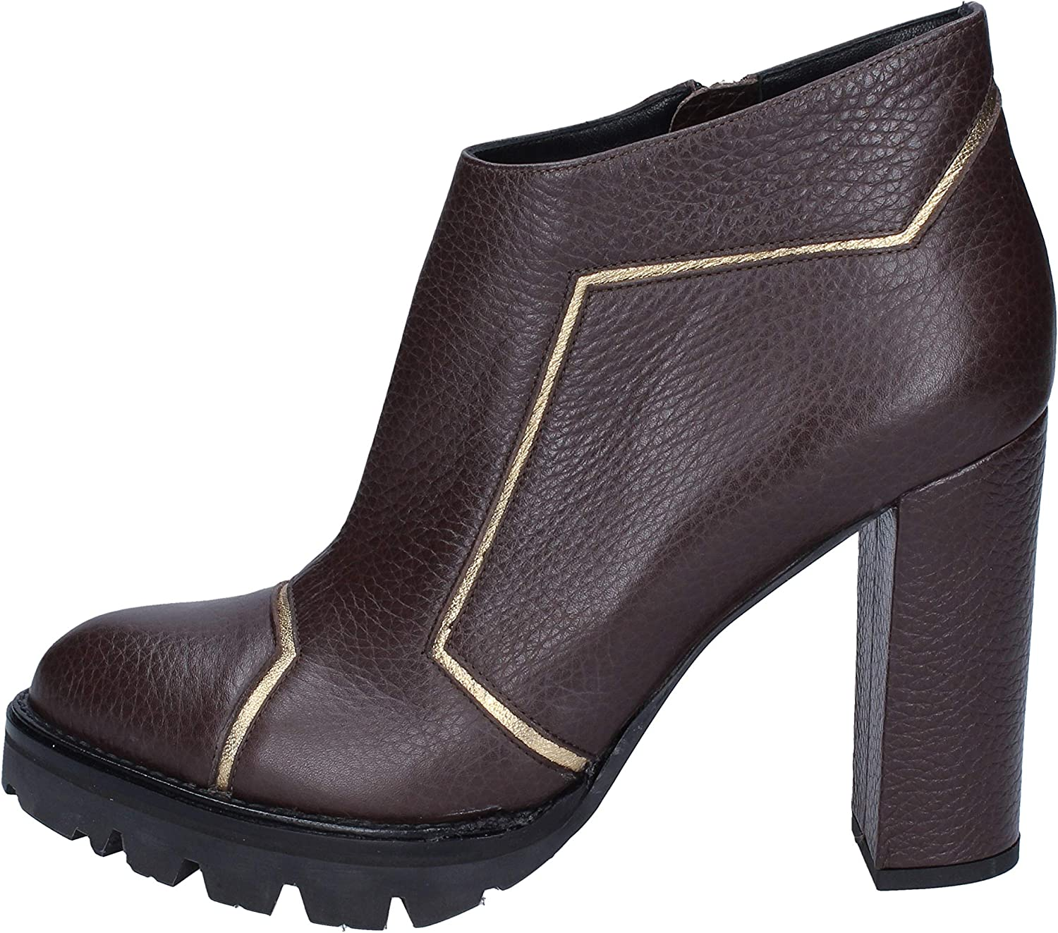 GIANNI MARRA Boots Womens Leather Brown