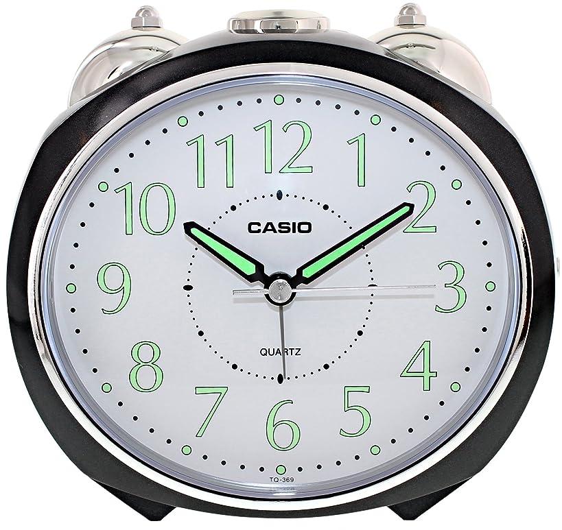 Casio #TQ369 Table Top Snooze Bell Alarm Clock