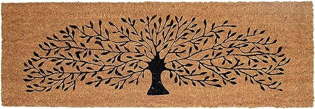 Onlymat Black Tree Coir Doormat,120 Cm X 40 Cm