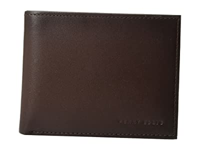 Perry Ellis Portfolio Michigan Slim Bifold (Brown) Bi-fold Wallet
