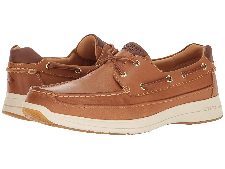 Sperry Gold Cup Ultra 2-Eye w/ ASV (Tan/White) Men
