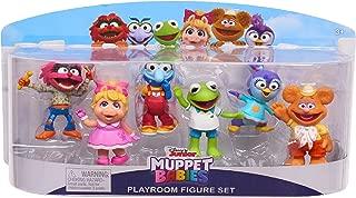 Disney Junior Muppet Babies Bundle - Playroom Figure Set 6-Pack & 2.5