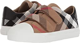 Burberry Kids - Belside Check Trainer (Toddler/Little Kid)