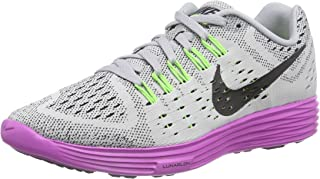 Womens Lunartempo Running Shoes Wolf Grey Black Fuchsia Force 705462 003