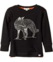 Appaman Kids - Extra Soft Fox Long Sleeve Tee (Toddler/Little Kids/Big Kids)