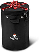 Outland Firebowl UV and Weather Resistant 740 Propane Gas Tank Cover with Stable Tabletop Feature, Fits Standard 20 lb Tank Cylinder, Ventilated with Storage Pocket