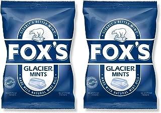 Fox's Glacier Mints Pack of 2 195g Uk Import