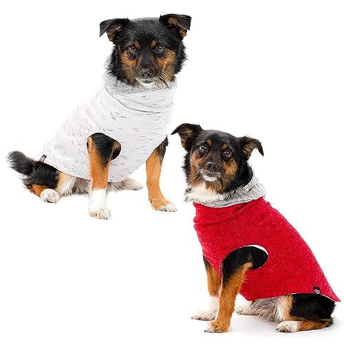 97081c01 The Long Dog Clothing Co. Dog Clothes | Expertly Designed Reversible Dog  Shirt with Dog