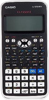 آلة حاسبة من كاسيو FX-570ARX، اسود