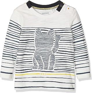 757f9f358ad01 IKKS Junior T- Shirt MARINIÈRE Chat